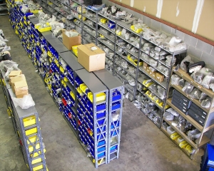A&J Parts warehouse bird\'s eye view