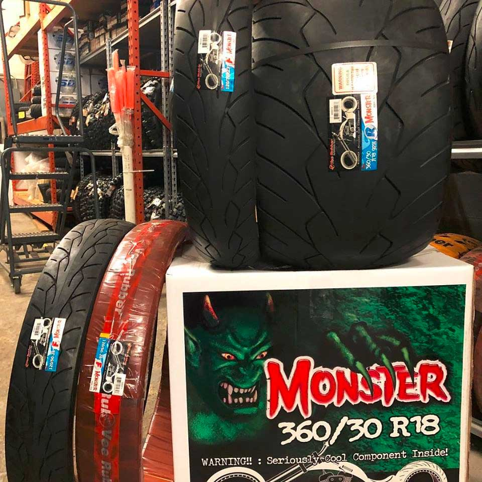 VRM-302 Vee Rubber Monster Motorcycle Tires